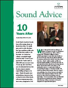 The Tyler Group - Sound Advice newsletter